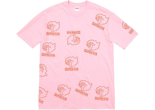 Supreme Gonz Heads Tee Light Pink