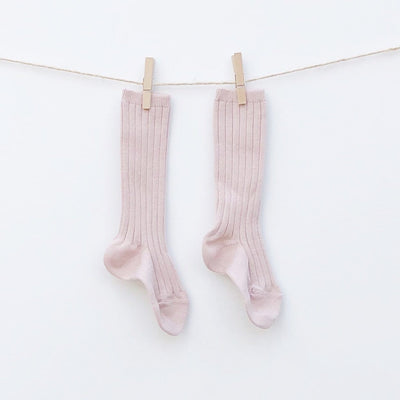 Condor Socks Crew High- Dusty Pink style children's clothes