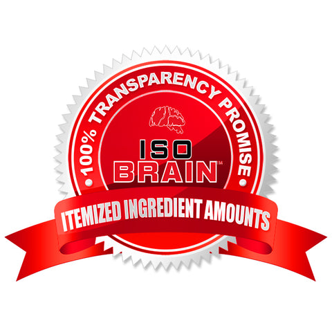 Nootropic Ingredient Amoutns