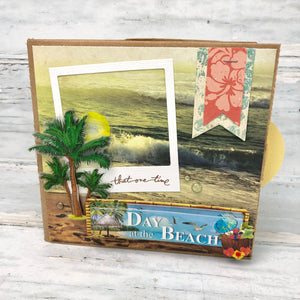 Beach Vacation Scrapbooks