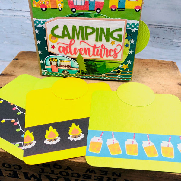 Camping Adventures Mini Scrapbook