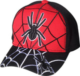 M53SPI03- Spider Logo With Web Spider Designed Baseball Cap