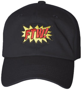 D12FTW01-FTW! DAD HAT - USWHOLESALECAP - WHOLESALE CAPS AND HATS AT A VERY LOW PRICE!