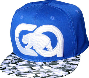 "N21CRE34- Structured Cotton Embroidered California ""CA Bear"" Logo Designed Snapback"