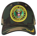 A03ARM02-US Army Logo Licensed Embroidered Military Cap 02
