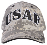 A04AIA01-USAF Logo Licensed Embroidered Military Cap