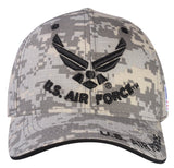 A04AIA03-U.S Air Force Logo Licensed Embroidered Military Cap