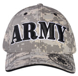 A04ARM02-U.S Army Logo Licensed Embroidered Military Cap 02