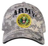 A04ARM03-U.S Army Logo Licensed Embroidered Military Cap 03