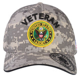 A04ARV02-U.S Veteran Logo Licensed Embroidered Military Cap 02