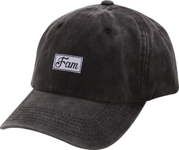 D12FAM01-FAM DAD HAT - USWHOLESALECAP - WHOLESALE CAPS AND HATS AT A VERY LOW PRICE!