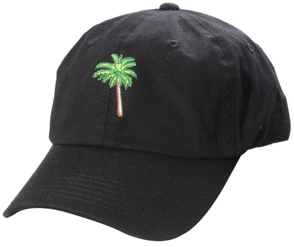 D12PAM01-PALM TREE DAD HAT - USWHOLESALECAP - WHOLESALE CAPS AND HATS AT A VERY LOW PRICE!