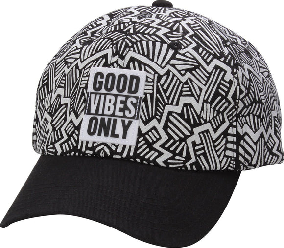 D12VIB01- Good Vibes Only Dad Hat