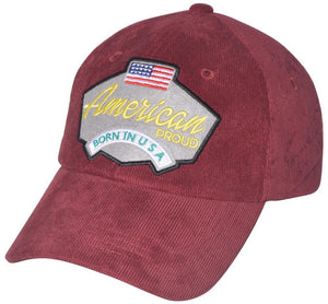 D12USA02- American Proud Dad Hat