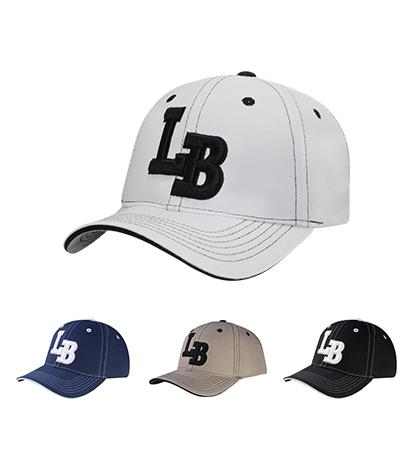 C04ILB02- Long Beach Full Name Logo Patch City Ball Cap
