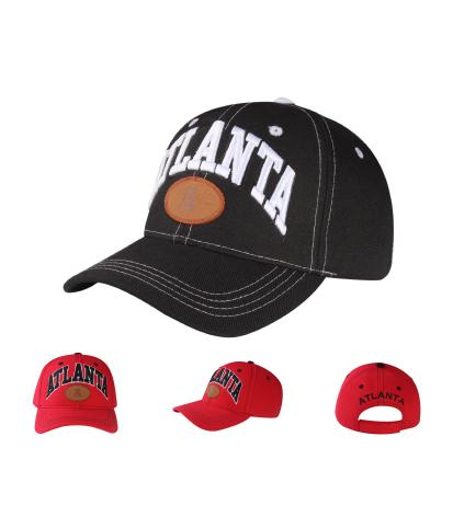 C06ATLT01- Atlanta Full Name Polyester City Baseball Cap