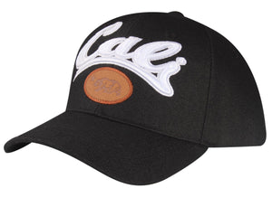 "C06CAL02- Cali Short Name ""Bear"" Embroidered Logo Patch Polyester Baseball Cap"