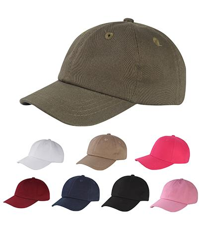 C1463I -6 Panel Unstructured Low Profile Cotton Baseball Cap
