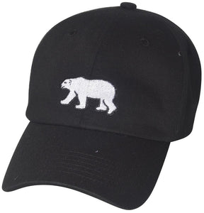 D12CRE01-CALI BEAR DAD HAT - USWHOLESALECAP - WHOLESALE CAPS AND HATS AT A VERY LOW PRICE!
