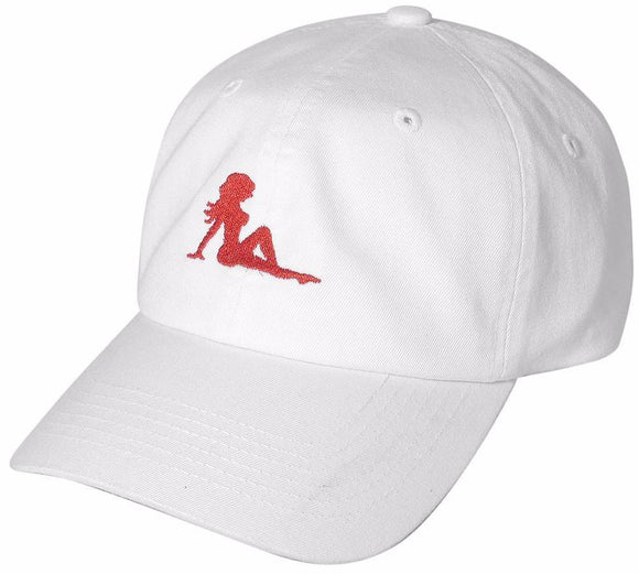 D12GRL01-SEXY GIRL DAD HAT - USWHOLESALECAP - WHOLESALE CAPS AND HATS AT A VERY LOW PRICE!