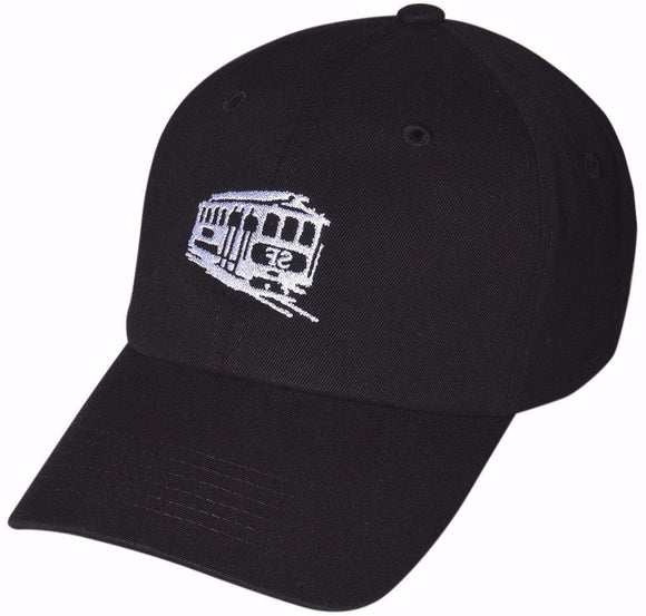 D12SAF03- SF Cable Car Dad Hat
