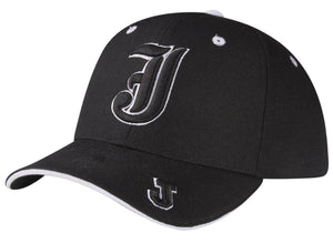 """J"" Alphabet Logo Sandwich Bill Baseball Cap"