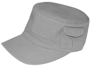 K1464WA - Cadet Castro Cotton Cap with Pocket