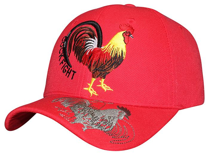 af93ddf4f377a ... M03COC02- Fighting Cock Logo Embroidered Mexico Designed Baseball Cap 02  ...