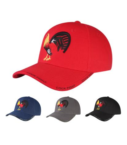 M03COC03- Fighting Cock Logo Embroidered Mexico Designed Baseball Cap 01