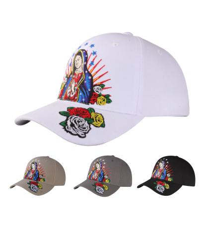 M03MAR04- Hail Mary Logo Embroidered Mexico Designed Baseball Cap