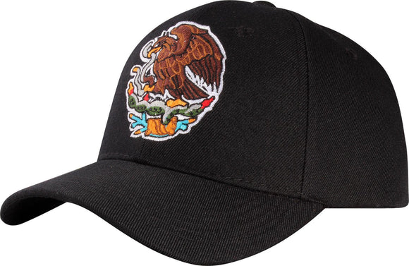 M11MEX43- Mexico Eagle Embroidered Baseball Cap