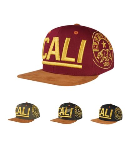 N21CA116- Structured Cotton Cali Short Name Logo With Side Panel Embroidered Republic Desgined Snapback