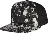 N21CA126- Structured Cotton Cali Short Name Logo With Paint Designed Snapback