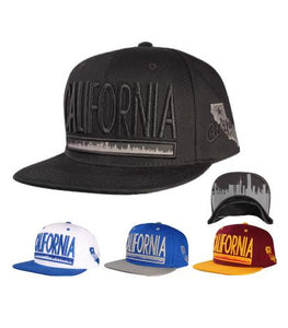 N21CAF56- Structured California State Logo Snapback