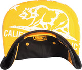N21CRE84- Structured Abstract Cali Bear Logo Snapback