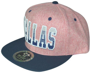 N21DAL15- Structured Cotton Dallas Snapback