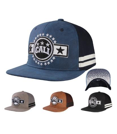 N31CAL16- Structured Cotton Cali Short Name With Back Panel Cali Logo Designed Snapback