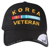 P16KOR01-Korean Veteran Logo Licensed Embroidered Military Cap