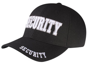 P16SEC03-Security Logo Licensed Embroidered Baseball Cap
