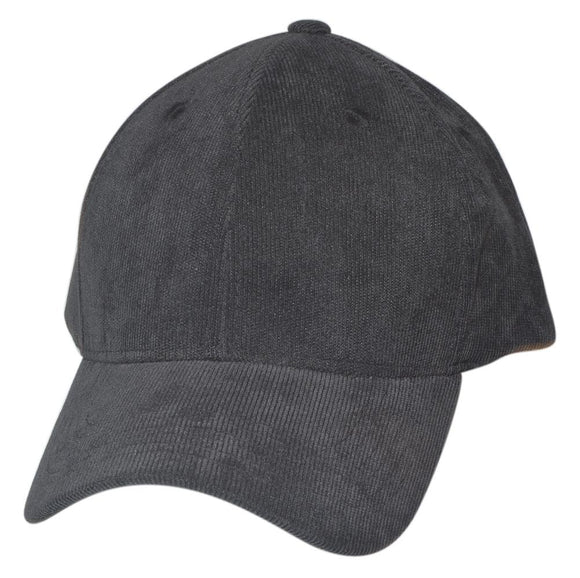 SPC16-03 - 6 Panel Thick Corduroy Cotton Structured Baseball Cap
