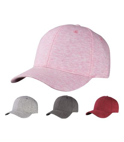 SPC17-09- 6 Panel Structured Washed Cotton Jersey Baseball Dad Hat