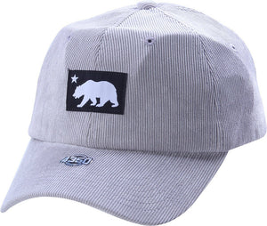D12CRE02-CALIFORNIA MINI BEAR DAD HAT - USWHOLESALECAP - WHOLESALE CAPS AND HATS AT A VERY LOW PRICE!