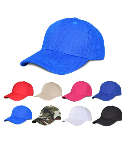 Y4361J - 6 Panel JUNIOR SIZE Polyester Regular Structured Baseball Cap with Velcro Back