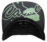 "N21CA141- California ""CALI"" Republic with Bear Logo Snapback"