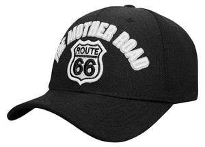 M03ROU04-Route 66 The Mother Road Baseball Cap