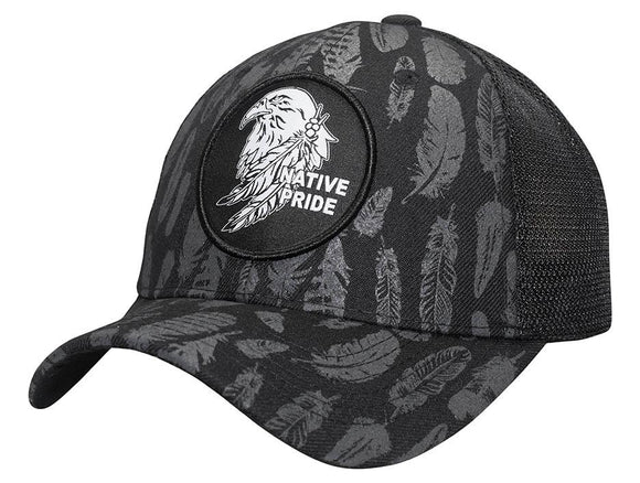 M11IND12-Mesh Back Native Tribe Baseball Cap