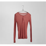 Long Sleeve T-shirt Tops