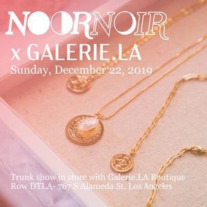 Upcoming Event: Galerie.LA Trunk Show, Los Angeles 12.22.19