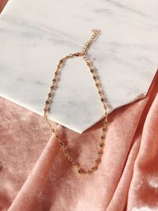 CHIARA Crystal Choker Necklace