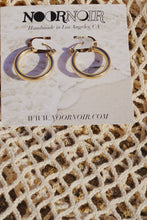 CHARLIE Gold Filled Hoop Earrings